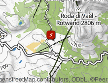 Map: Ski Area Carezza Karersee / Ski Area Carezza Costalunga