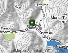 Map: Bezzecca