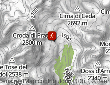 Mappa: Val d'Ambiez