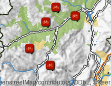 Map: Dolomiti di Brenta Bike