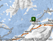 Map: Roncegno Terme