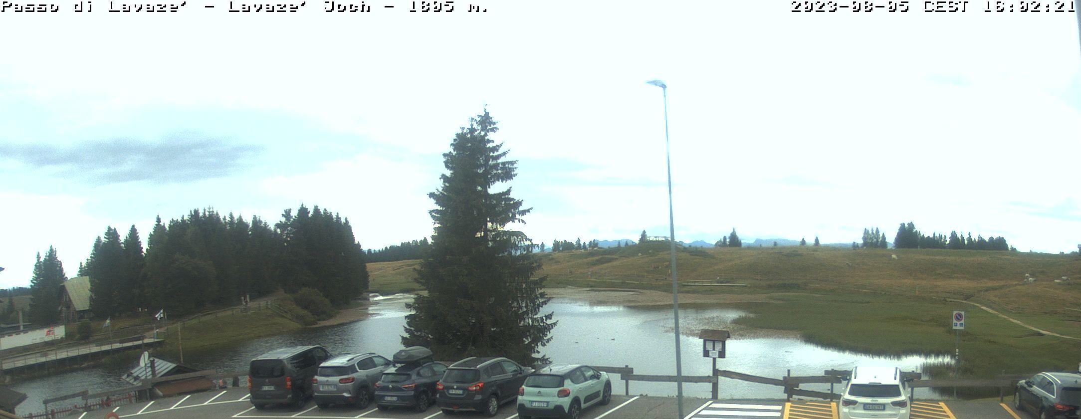 Webcam Passo Lavazè