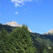 Die Wälder und Berge rund um Campitello