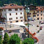 Platz im Dorf