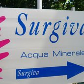 Mineralwasser Surgiva
