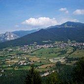 Panoramablick auf Folgaria