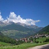 Panoramablick auf Celledizzo di Pejo