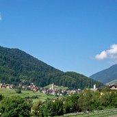 Das Dorf Ossana