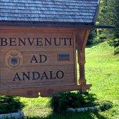 Willkommen in Andalo