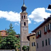 Der barocke Kirchturm