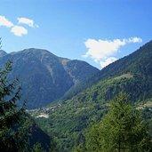 Das Val di Bresimo Tal