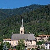 Die Kirche von Castelfondo