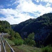 Die Straße nach Castelfondo