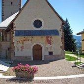 Fresken an der Kirche von Varollo