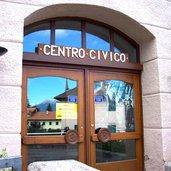 Im Bürgerzentrum von Malosco