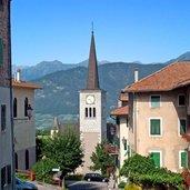 Das ruhige Dorfzentrum