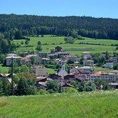 Sarnonico und die Wälder