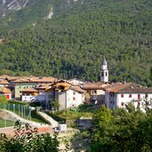 Panoramablick auf Vigo di Ton