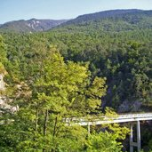 Die Brücke auf der Staatsstraße