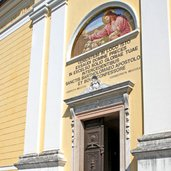 Die Kirche von Canal San Bovo