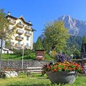 Panoramablick vom Dorf