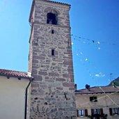 Die Kirche Santa Lucia in Ballino