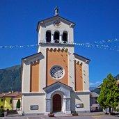 Die Kirche San Sebastiano in Fiavè