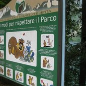 10 Regeln, um den Naturpark Adamello-Brenta