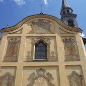 Die Kirche des Hl. Lorenz in Pinzolo