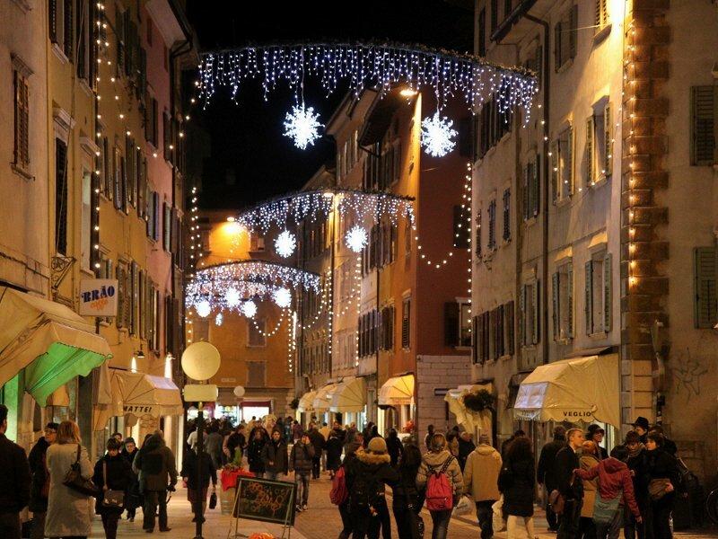 Natale A Trento.Trento Christmas Market Trentino Italy