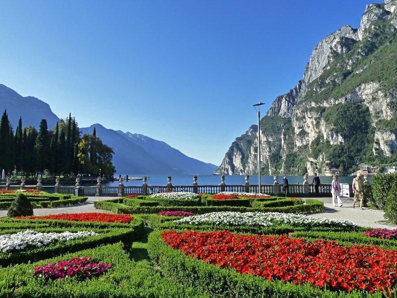 Giardino Zen Lago Di Garda : Wanderung auf dem alten ponale weg trentino dolomiten