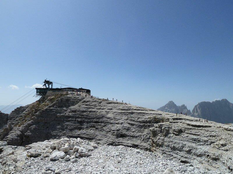 Alpine Tour From Mt Sas Pordoi To Mt Piz Boe Trentino Italy