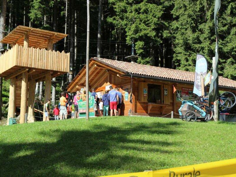 Breg Adventure Park Trentino Dolomiten Italien