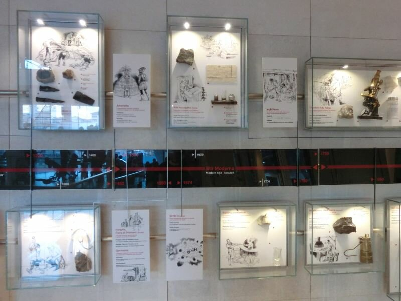 Muse museo delle scienze di trento trentino for 1 piano piano di storia