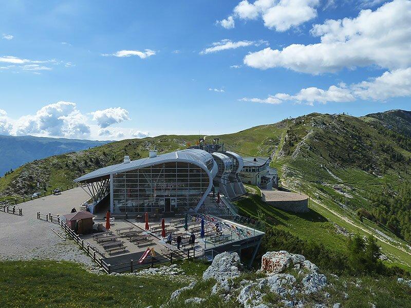 Auf Den Altissimo Di Nago Am Monte Baldo Trentino
