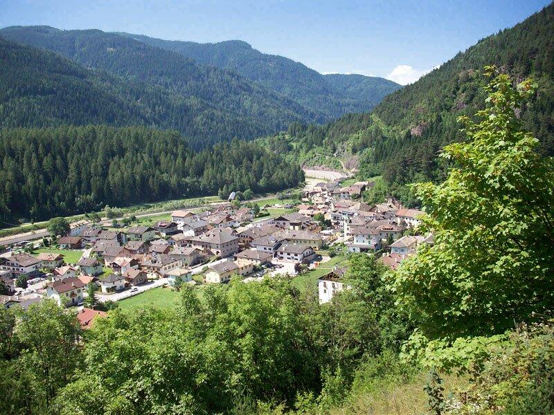 Val di Fiemme and Val di Fassa cycling track - Trentino - Italy