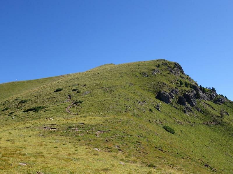 Klettersteig Schwarzhorn : Gipfeltour auf das schwarzhorn trentino dolomiten italien