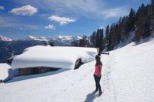 Escursione invernale Malghe di Bolentina