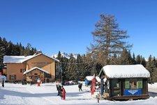 Luserna inverno Lusern Winter