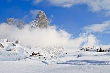 Passo Rolle - Cimon della Pala - Winter
