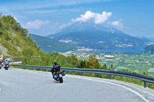 Moto attraverso il Trentino