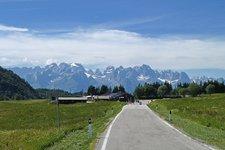 Moto giro dei passi Trentino