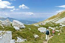 Escursioni alpine in alta montagna Trentino