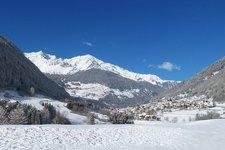 Valle di Peio con Celledizzo e Cogolo inverno Winter