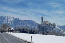 Castello di Fiemme inverno