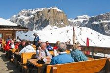 Sellaronda, Col Rodella, Rifugio Salei, Winter, Ski