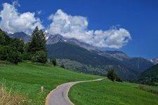 Pista ciclabile Val di Sole Radweg