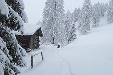 Escursione invernale Costalunga Tre Baite