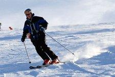 Sciatore, sci generico