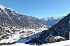 Val di Sole, Pejo, Winter landscape